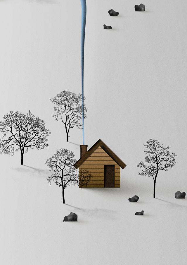 Eiko Ojala. Vertical Landscape