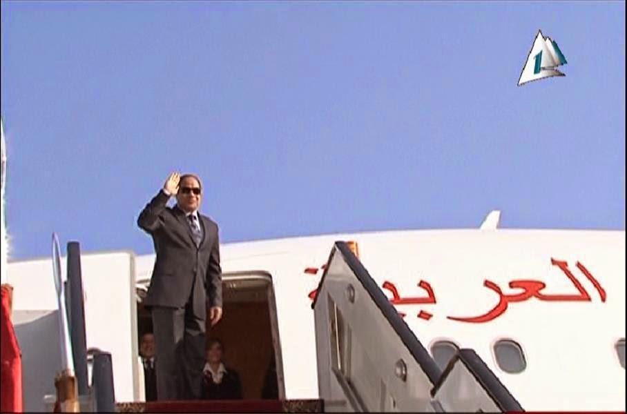 مصر:  صور و تفاصيل تنشر لأول مرة عن طائرة عبد الفتاح السيسي
