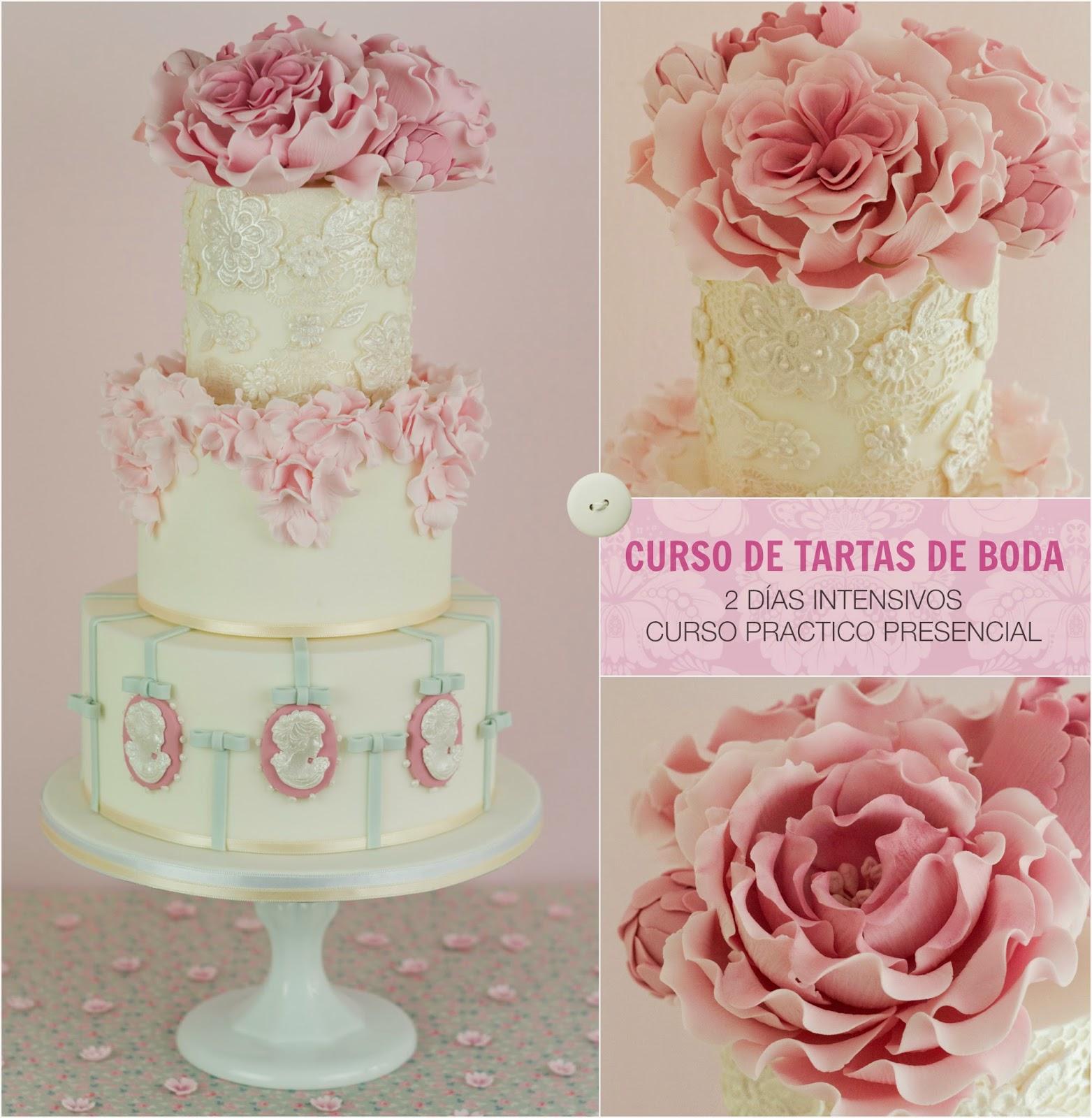 Curso de tartas de boda de Patricia Arribalzaga