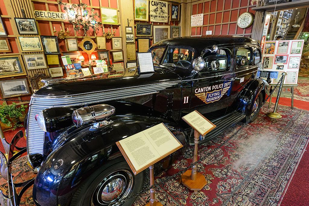 1937 Studebaker President Bullet-Proof Police Car