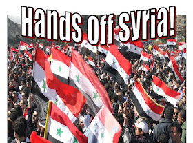 Hands Off Syria on Facebook