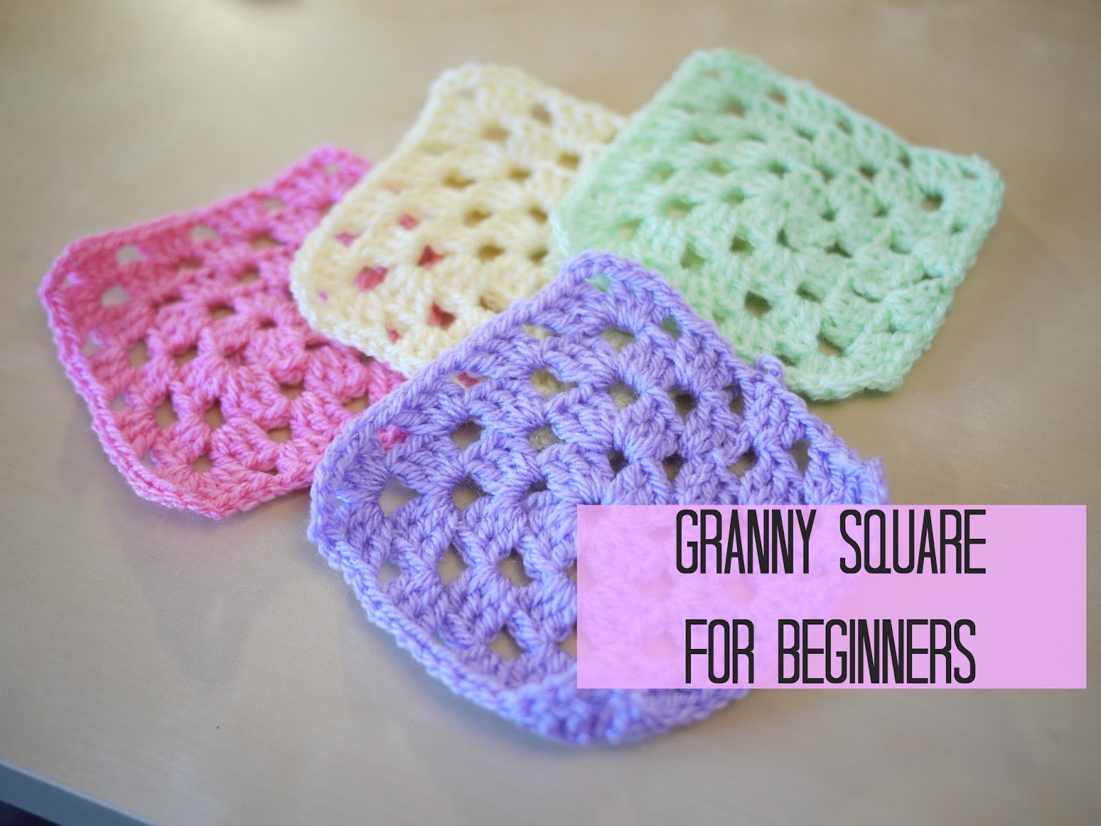 Crochet Basic Granny Square Tutorial : Crochet Granny Square tutorial - Bella Coco by Sarah-Jayne