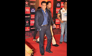 Pictures: Salman Khan at CCL Glam Night