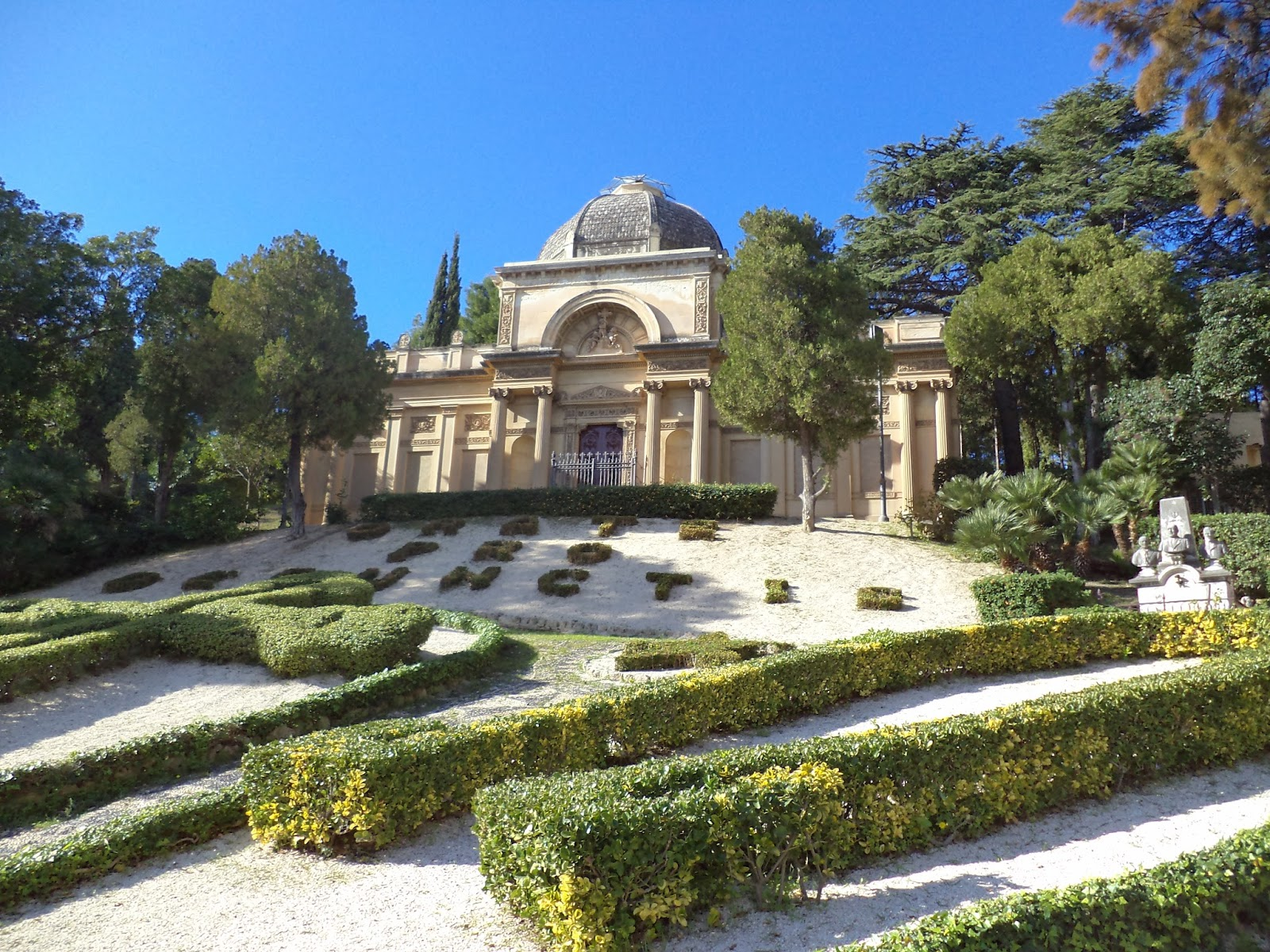 Monumental Cemetery of Messina (Messin, Italy)