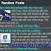 Thêm tiện ích bài viết ngẫu nhiên có ảnh thumbnail cho Blogspot