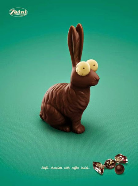 Easter Print Advertising Zaini Koffi Coffee Chocolate