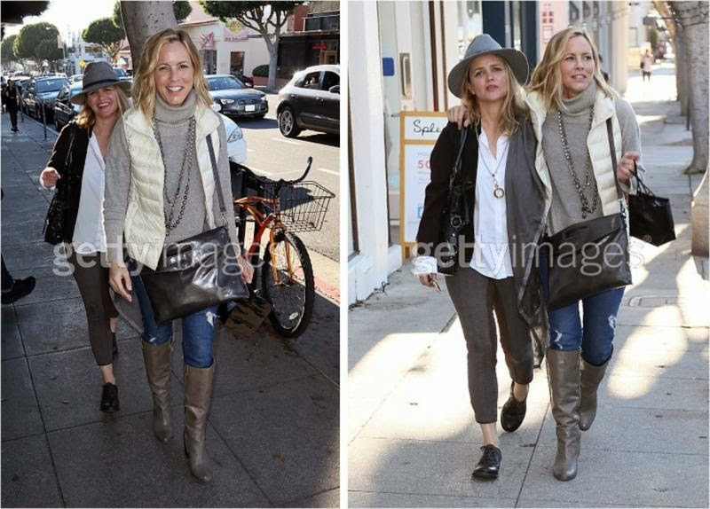 Maria Bello and Clare Munn