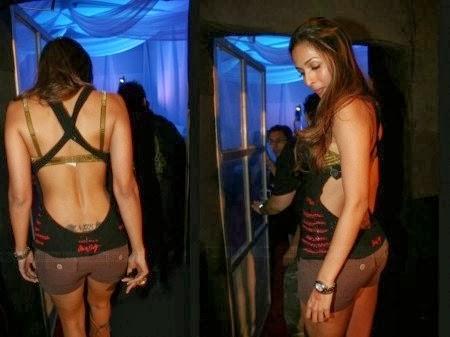 Malaika Arora Nude Backless photo