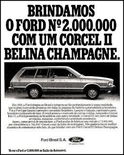 propaganda  Ford Corcel II Belina - 1978;  propaganda Ford anos 70; Ford Company; Henry Ford;  reclame de carros anos 70. brazilian advertising cars in the 70. os anos 70. história da década de 70; Brazil in the 70s; propaganda carros anos 70; Oswaldo Hernandez;