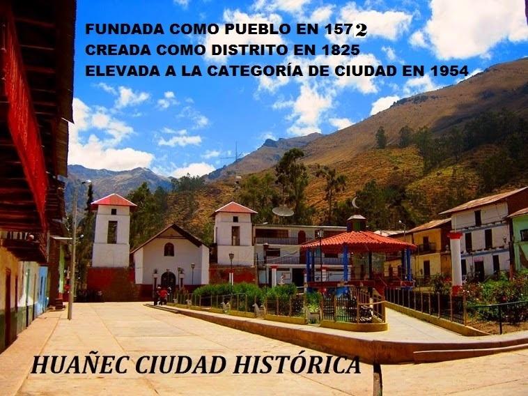 PLAZA MAYOR DE LA CIUDAD HISTÓRICA DE HUÁÑEC