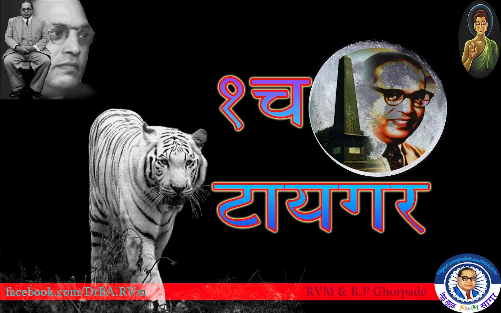 Ek Tha Tiger Bhim Tiger Dr Babasaheb Ambedkar Bhimrao