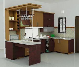 Dapur Minimalis Modern Tapi Sederhana