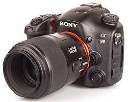 Spesifikasi Sony Digital SLR SLT-A99V