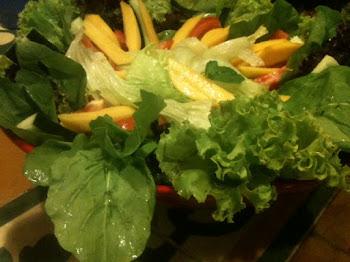 Salada Verão: servida no almoço da produção de moda da Dafiti 16/03/2012
