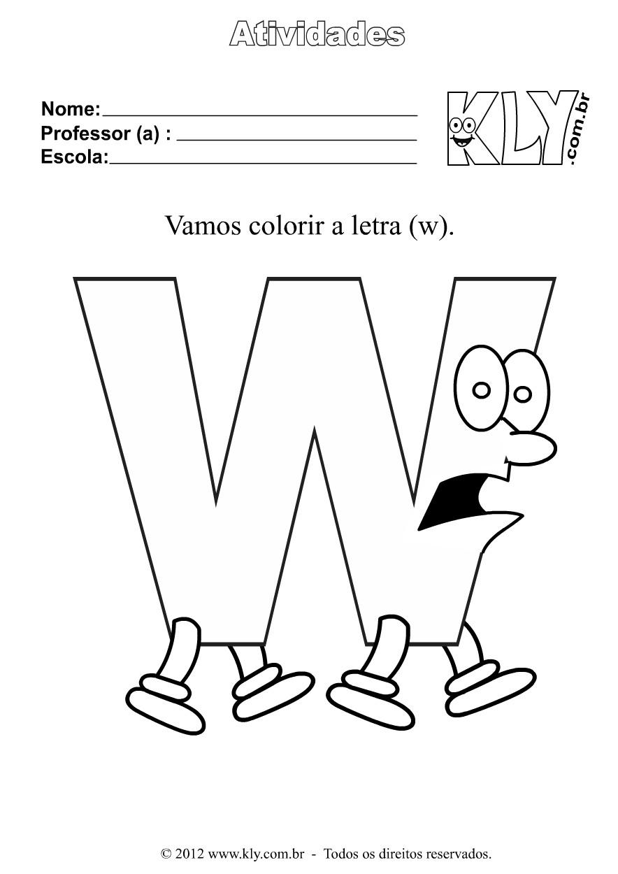Desenhos Para Colorir Imagens Números Tabuada  - imagens para colorir letras