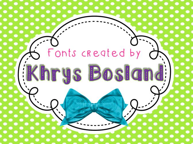 Fonts I Love: