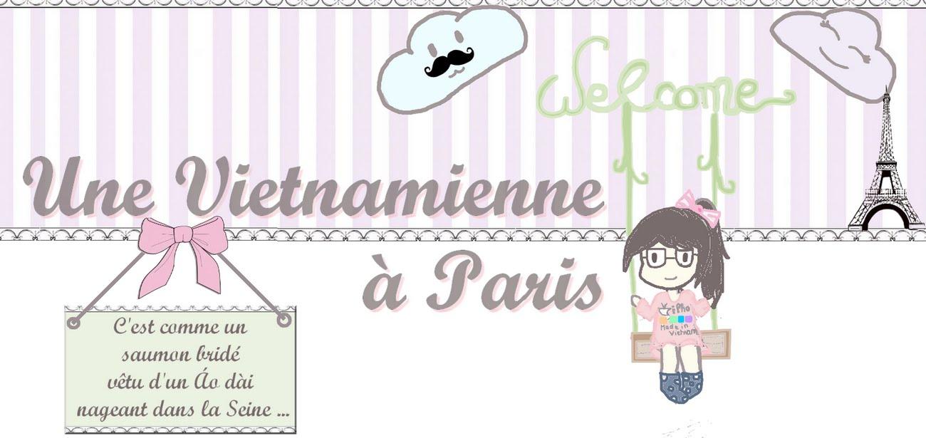 Une Vietnamienne à Paris