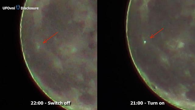 Un OVNI a fait quitter Aristarchus cratère sur la Lune? Le 26 Novembre 2015