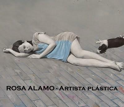 ROSA ALAMO - Artista plástica