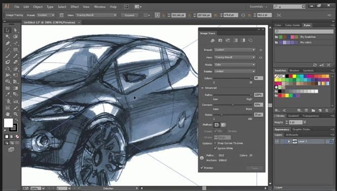 Illustrator cc tutorial 3d