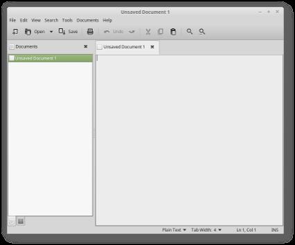Xedit Linux Mint - X-Apps