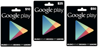 Google Play gift cards Can Now be Bought at RadioShack, Target or GameStop. Get Yours Now!
