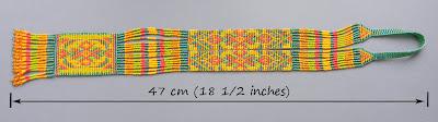 beadwork split loom necklace beaded jewelry beadwoven blog