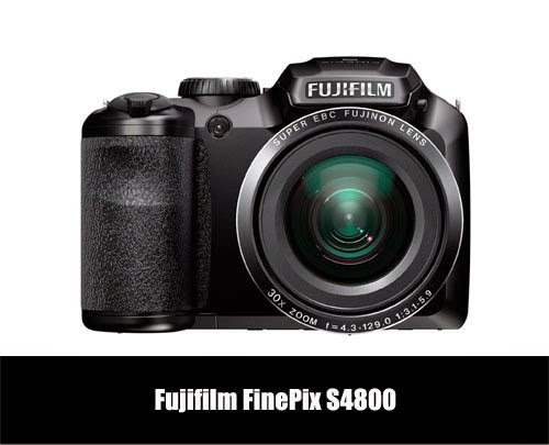 Fujifilm FinePix S4800 with 30x Zoom for Less Than 150 USD