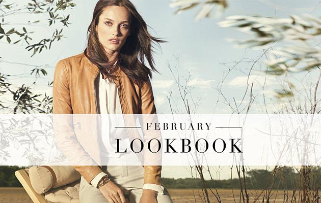 Massimo Dutti, Lookbook Febbraio 2013