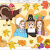 THANKSGIVING DAY * COLORING PAGES