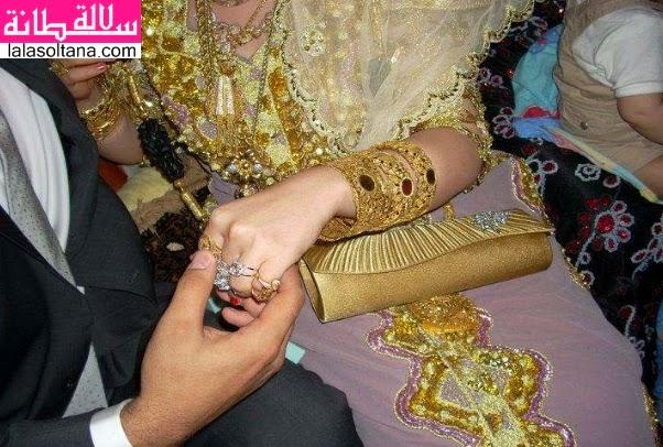 أطقم الذهب مودرن للعروسة
