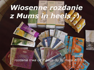 Rozdanie u Mums in heels :-)