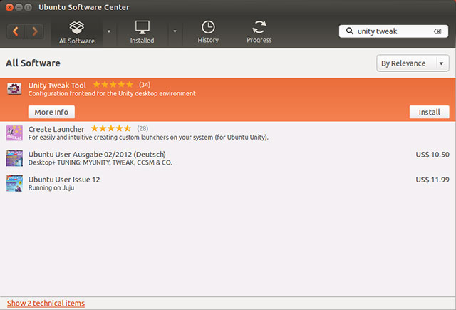 Unity Tweak Tool on Ubuntu 13.04 