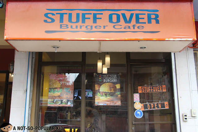 Stuff Over Burger Cafe in Quezon City