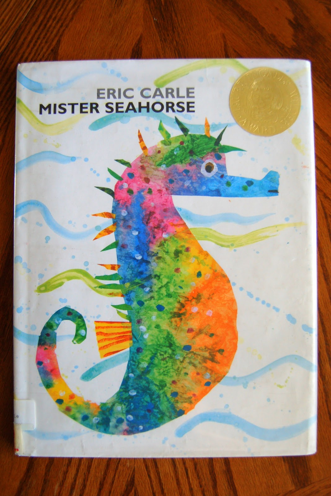 Mister Seahorse Craft With Lacing Practice I Heart