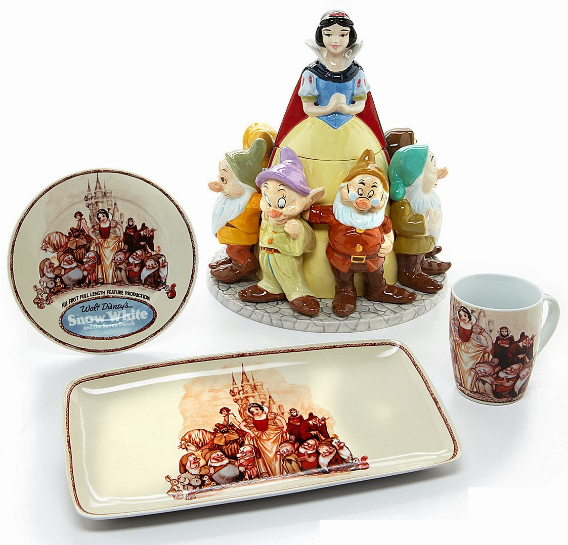 Dillardu0027s Snow White 75th Anniversary Dinnerware  sc 1 st  Filmic Light & Filmic Light - Snow White Archive: Dillardu0027s Snow White 75th ...