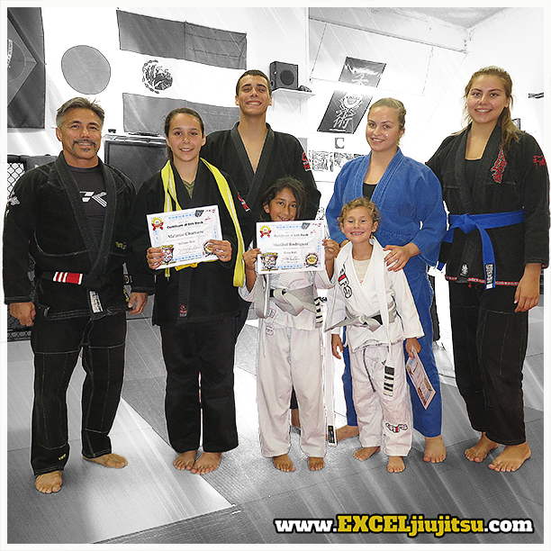 Vista Oceanside Kids Jiu Jitsu, BJJ awards and promotions, Martial Arts