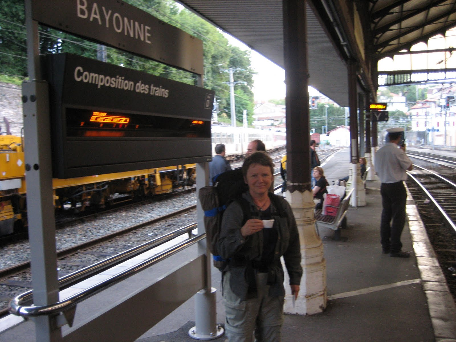 Annie 39 s simple life starting st jean pied de port - Train bayonne saint jean pied de port ...