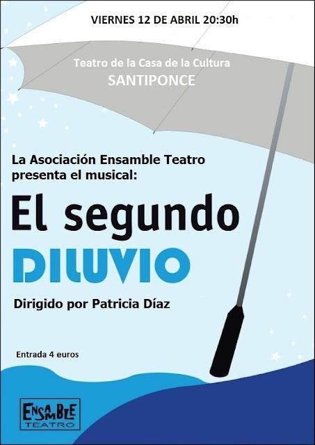 Cartel anunciador del evento - Ensamble Teatro en Santiponce