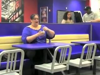 gorda come nuevo helado de bk y disfruta gimiendo