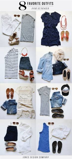 8 Favorite Outfits for Summer (with links for sources!)