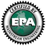 """EPA """"Green"""" Certified"""