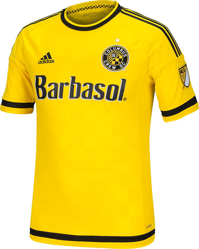 Columbus Crew Uniforms Columbus Crew 2015 Home Kit