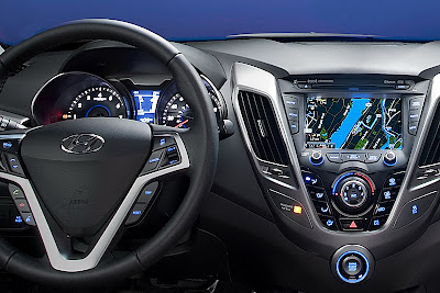 Hyundai Veloster Dashboard