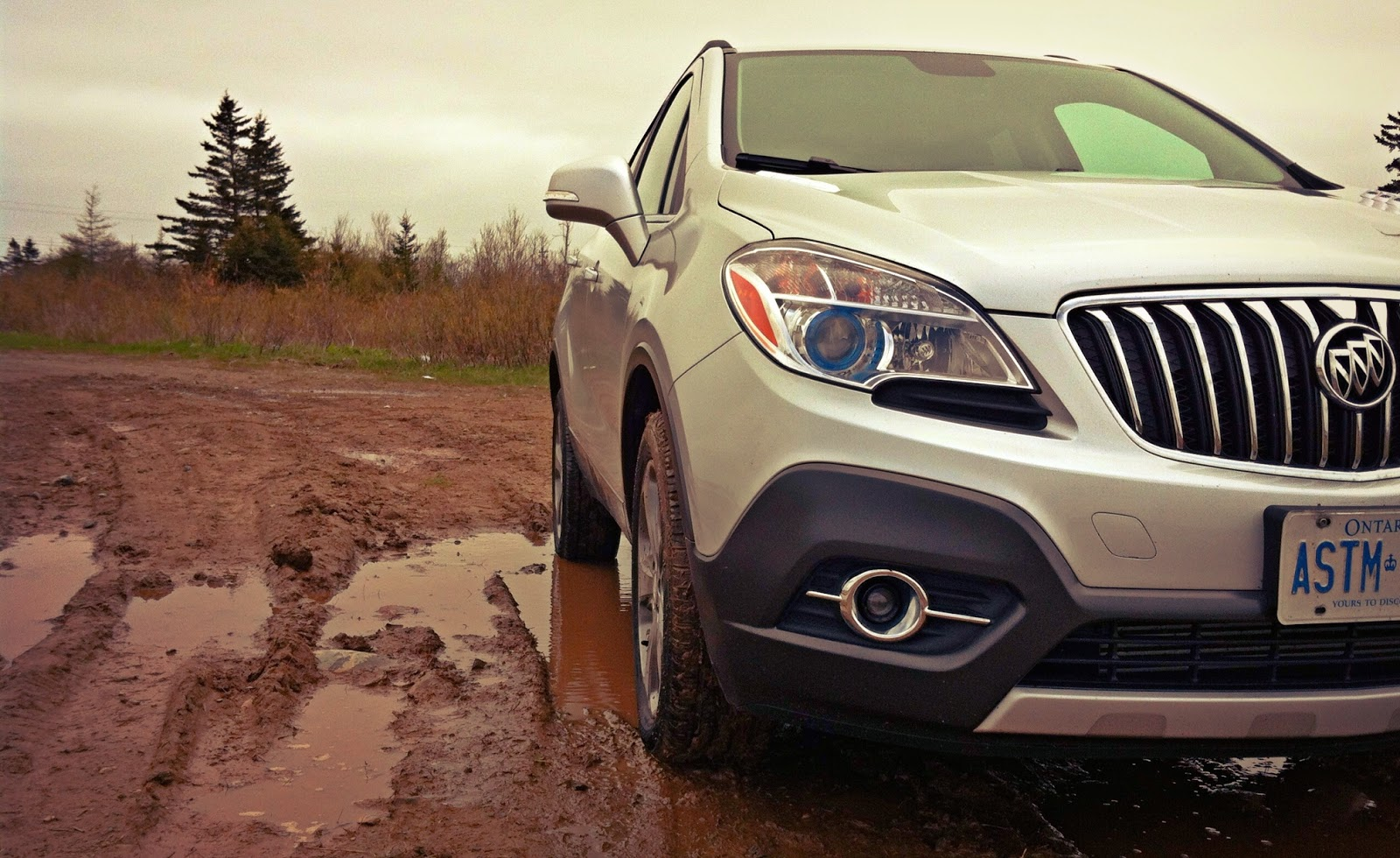 2014 Buick Encore AWD mud