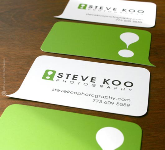 steve koo photography business card designed by curious co