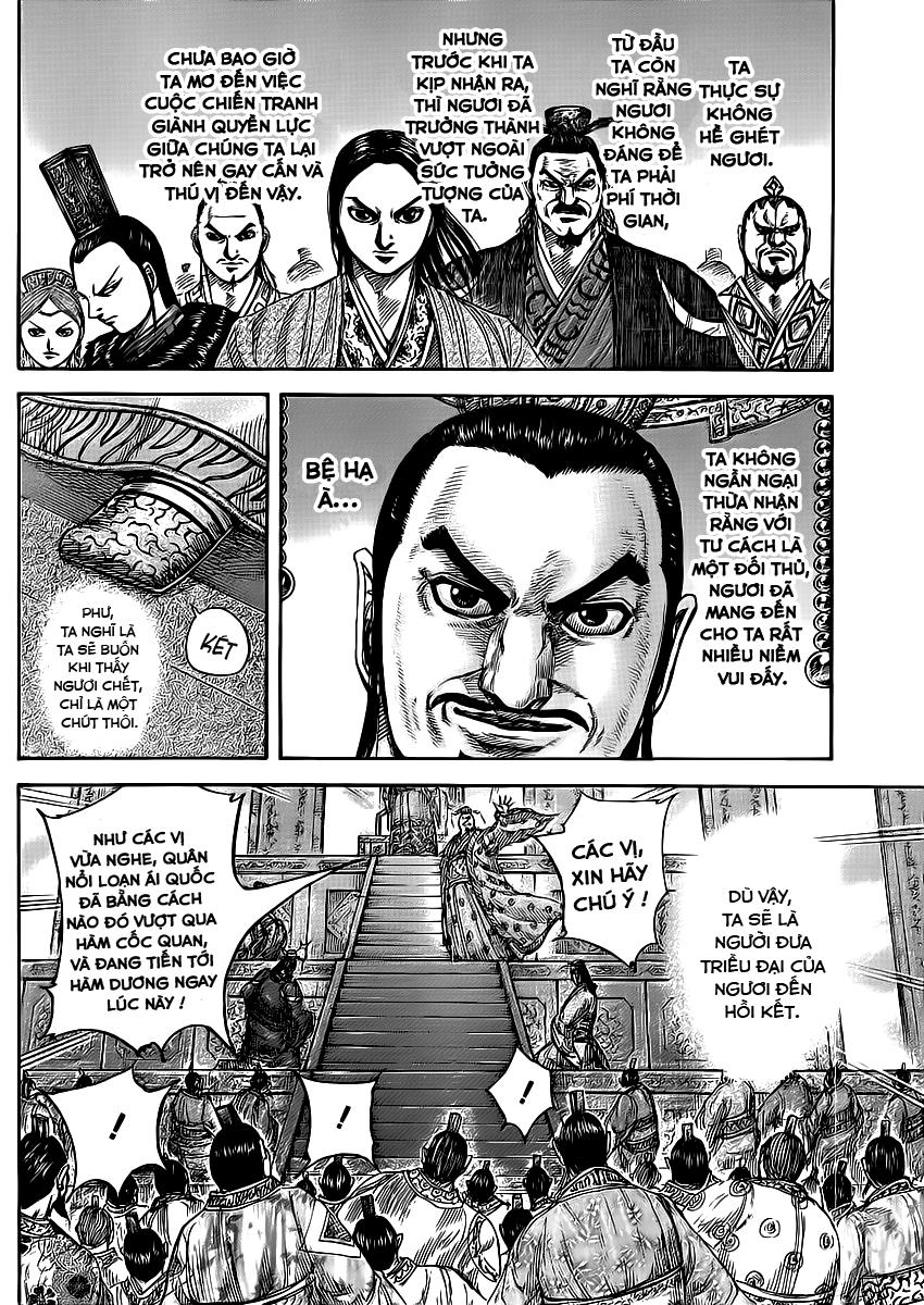 Kingdom - Vương Giả Thiên Hạ Chapter 414 !!!! page 18 - IZTruyenTranh.com