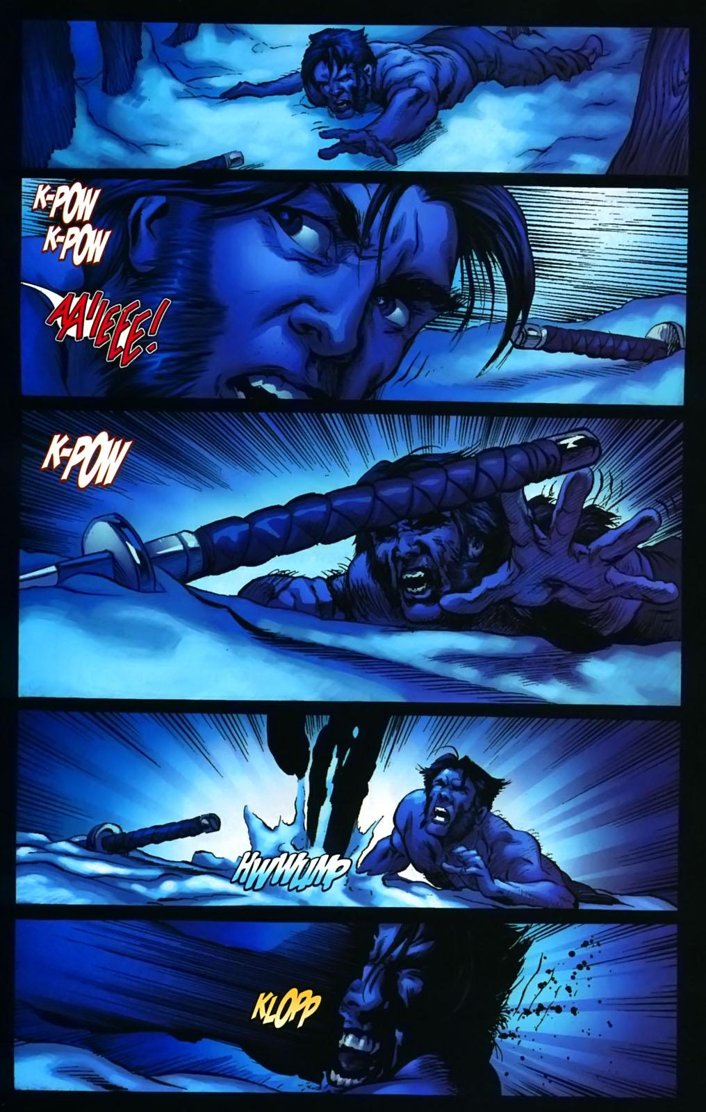 Read online Wolverine (2003) comic -  Issue #38 - 16