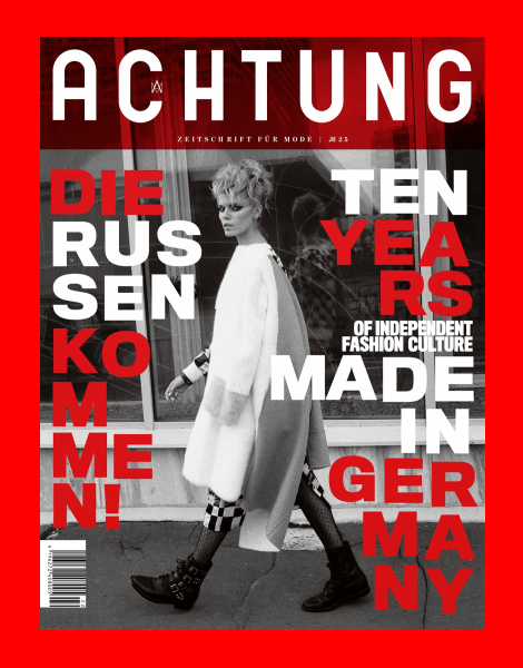 Maryna Linchuk by Aleksey Kiselev for Achtung Mode