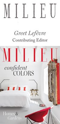 HONORED TO BE A CONTRIBUTING EDITOR TO MILIEU MAGAZINE